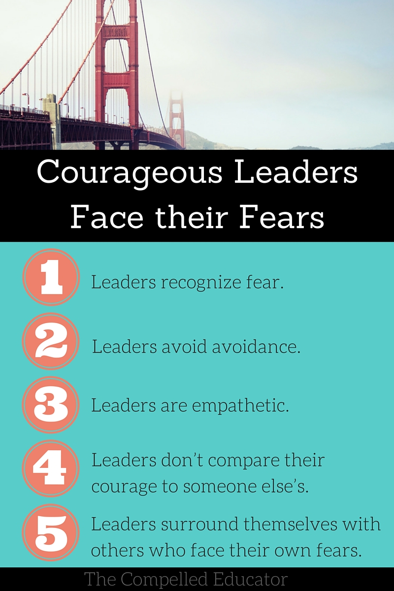 The Compelled Educator: Courageous Leaders Face their Fears