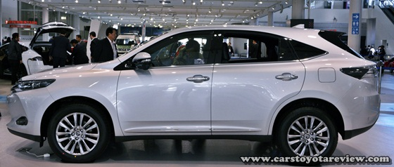 Toyota Harrier New Review Model