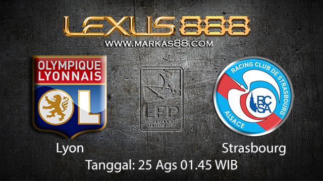 Prediksi Bola Jitu Lyon vs Strasbourg ( French Ligue 1 )