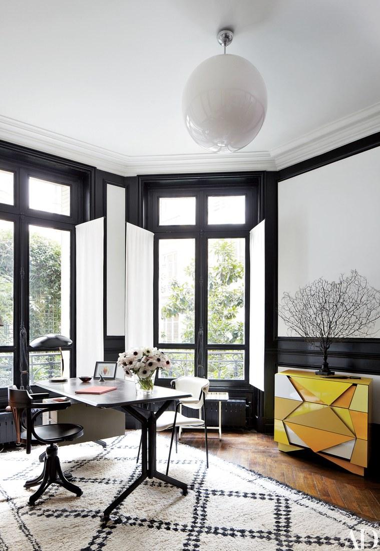 image result for chic Paris apartment Stefano Pilati Bruno Caron Louis Benech