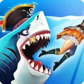 Terbaru Hungry Shark World Mod Apk v2.1.0+Data OBB Offline Android