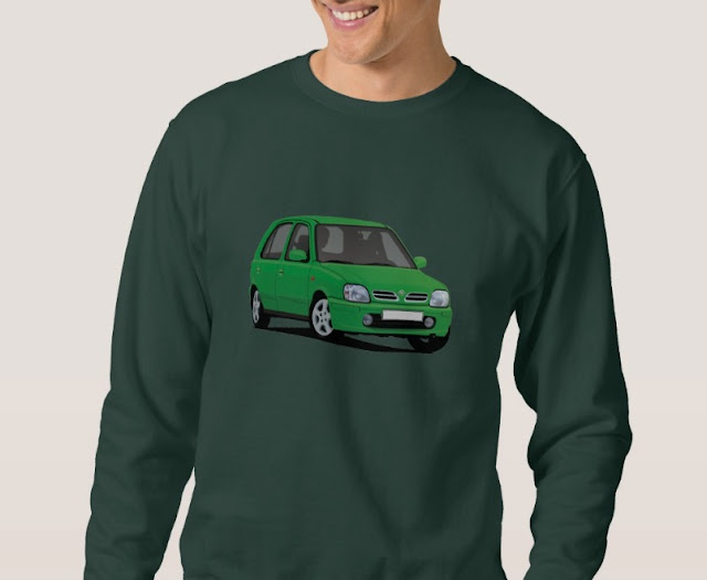 Car  t-shirt - Nissan Micra or March
