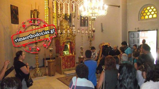 Συγκίνηση στην Παναγία Σουμελά: Λιβανέζοι Ορθόδοξοι ψάλλουν για την Θεοτόκο στην Παναγία των Ποντίων