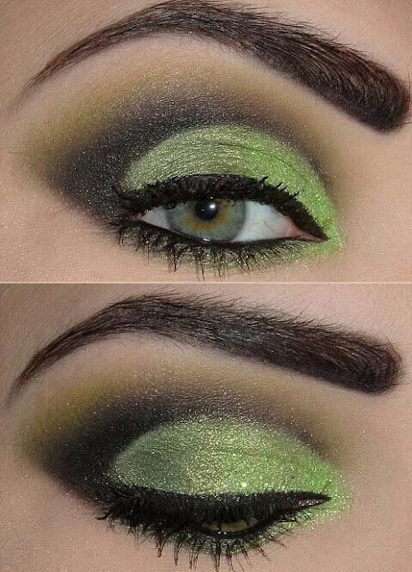91276a032 Maquillaje para Ojos en tono Verde Pistacho : Maquillaje, Belleza y ...