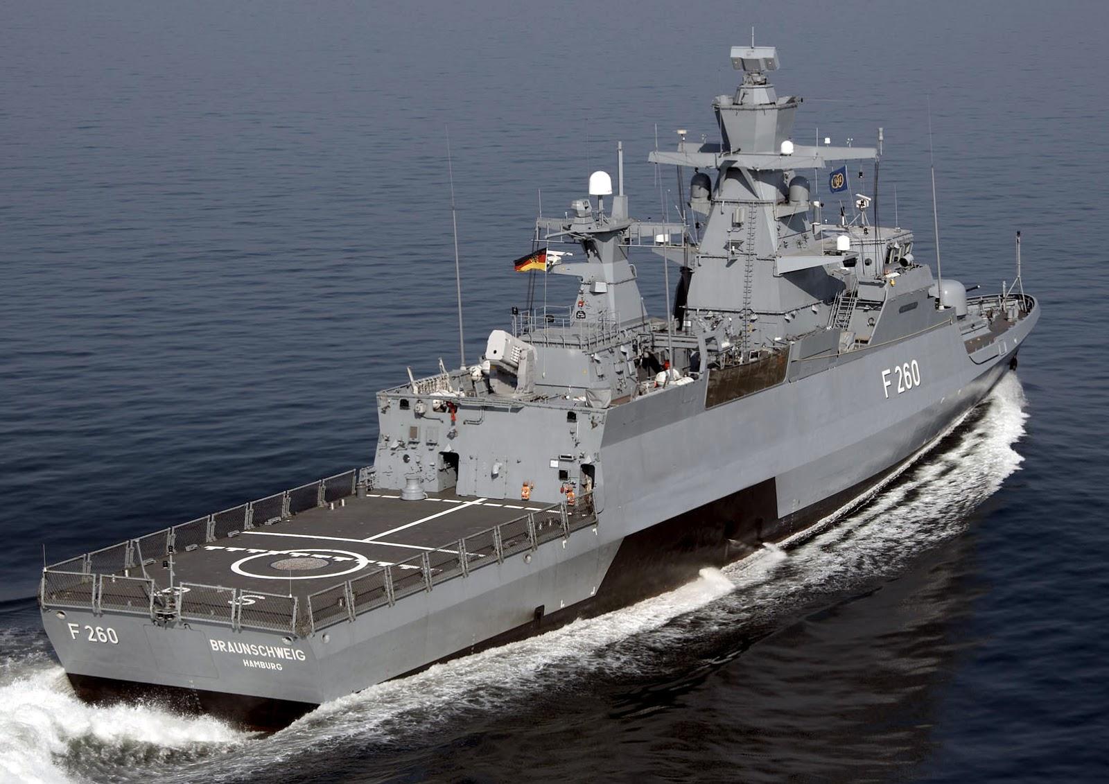 deutsche marine zam wi a 5 zmodernizowanych korwet klasy braunschweig. Black Bedroom Furniture Sets. Home Design Ideas