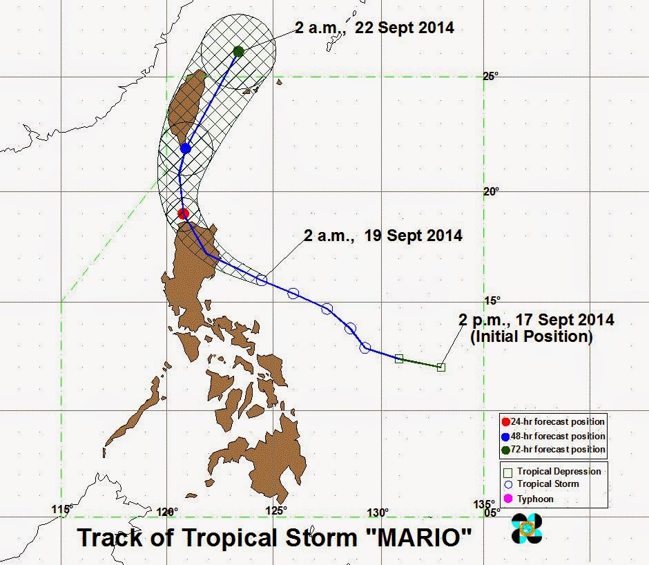 Bagyong Mario and Habagat bring heavy rain (September 19)
