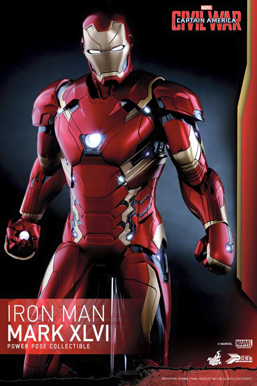Iron Man Mark 46 (Power Pose)