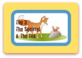 В ТОП 3 блога The Squirrel and The Fox