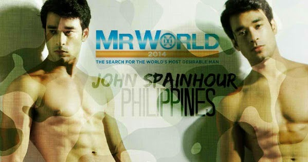 John Spainhour - Mr. World Philippines.