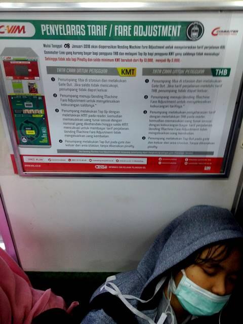 Mengenal Fare Adjustment Atau Penyelaras Tarif Tiket Commuter Line