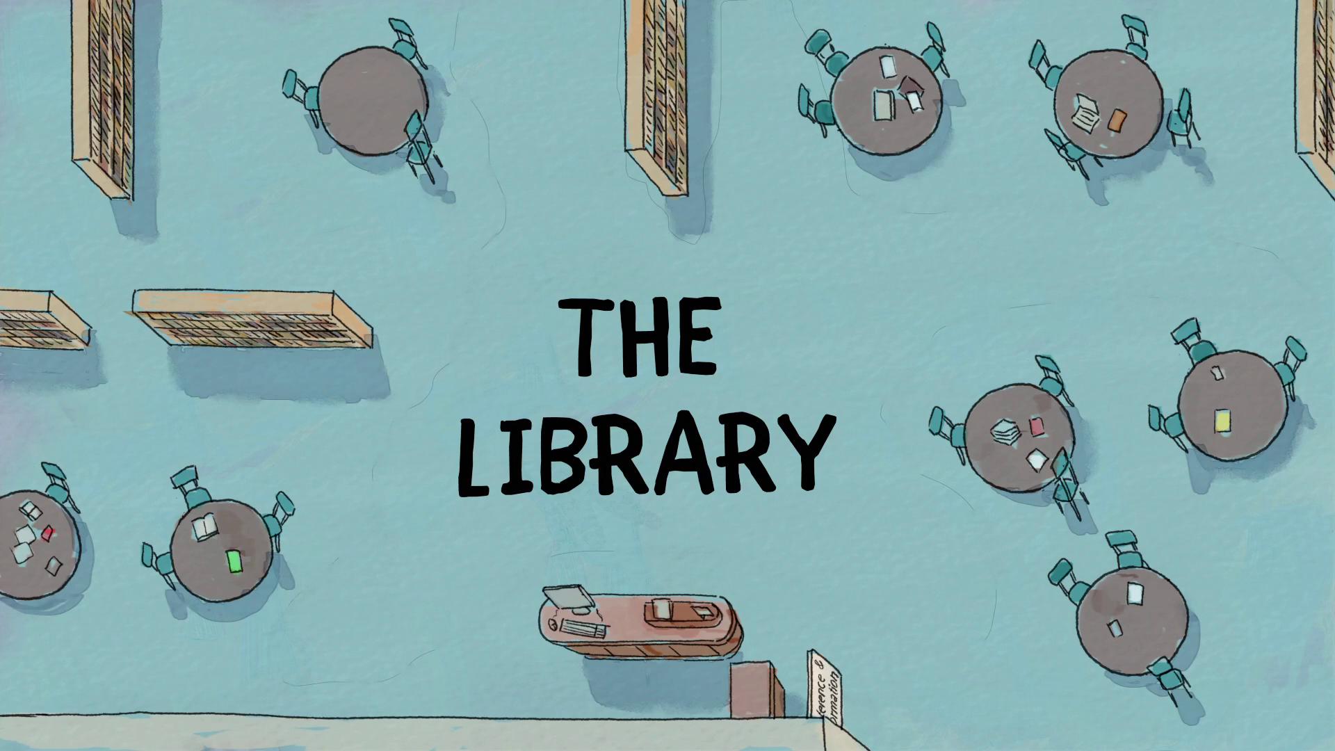 Ursos sem Curso - A Biblioteca