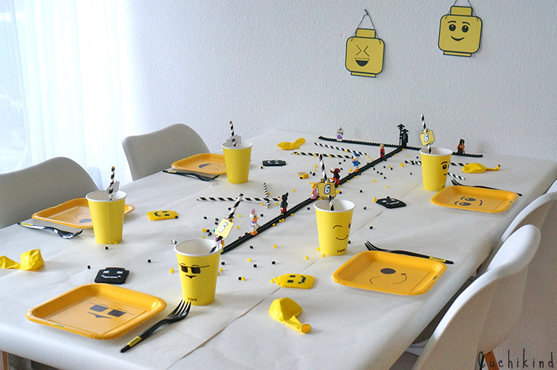 Dekoration Fur Die Legoparty Mit Vorlagen Cuchikind