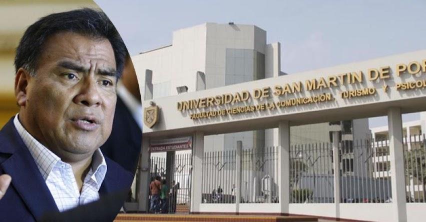 Proyecto de ley de bancada aprista para modificar Ley Universitaria son para darle continuidad a la norma, según el Congresista Javier Velásquez Quesquén