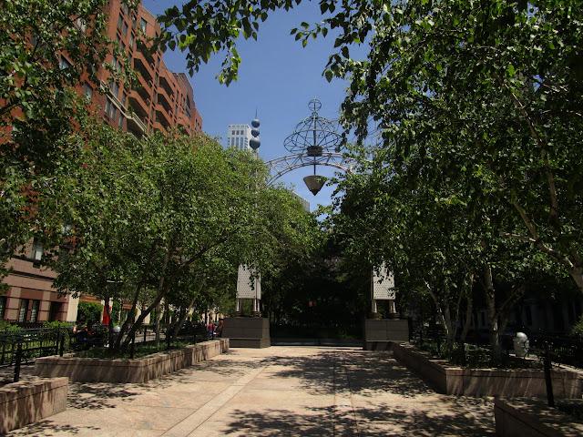 Хадсон-Ривер Парк, Нью-Йорк (Hudson River Park, NYC)