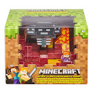 Minecraft Alex Battle in a Box Figure