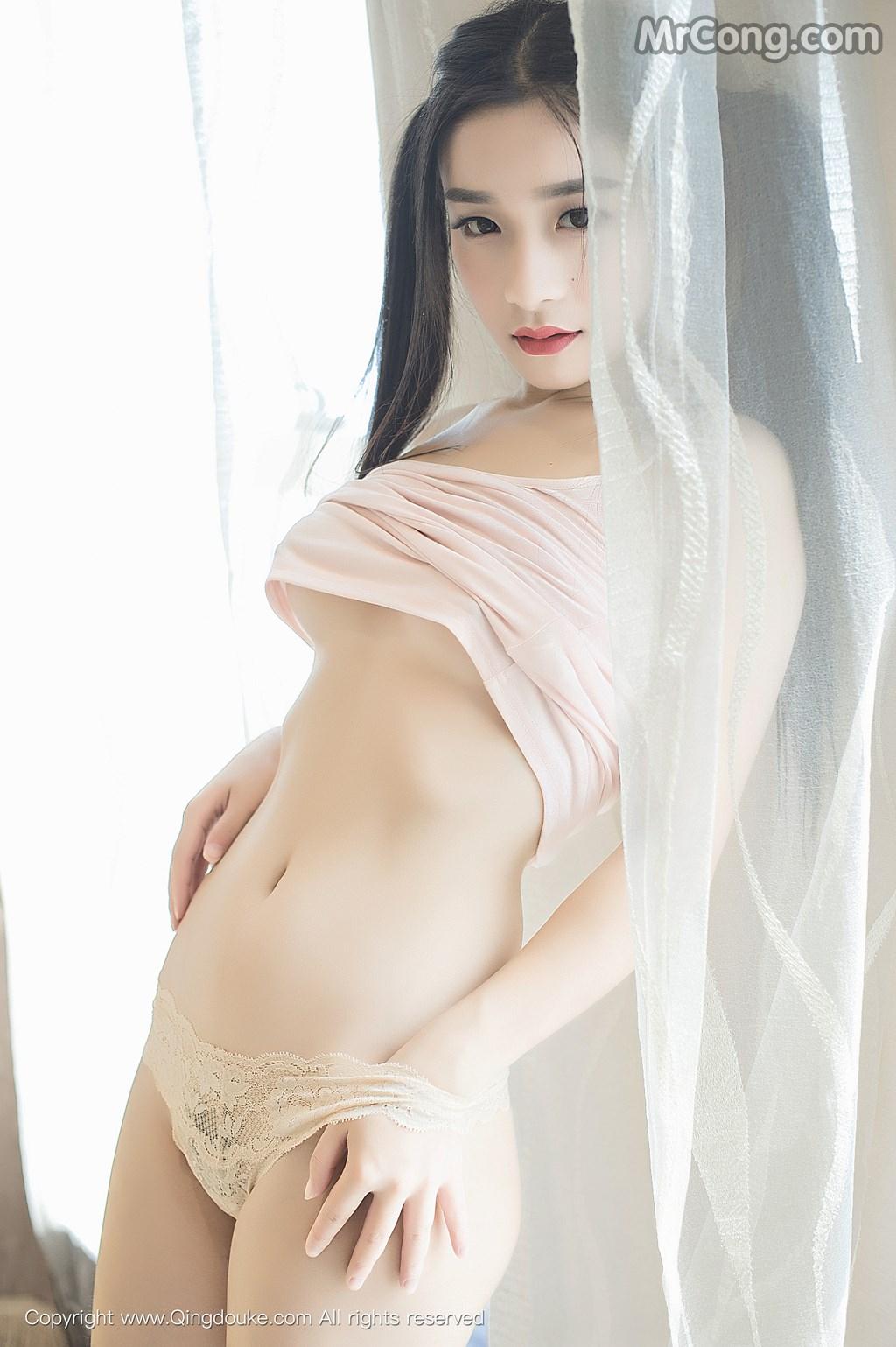Image MrCong.com-QingDouKe-2016-11-23-Qi-Meng-Cherish-010 in post QingDouKe 2016-11-23: Người mẫu Qi Meng (绮梦Cherish) (68 ảnh)