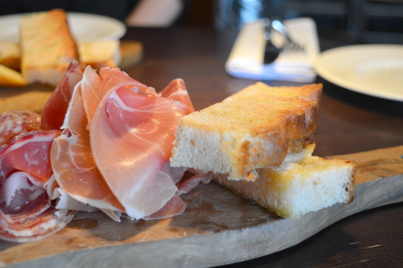 Autumn Favourites at Gusto, Newcastle Deli Board