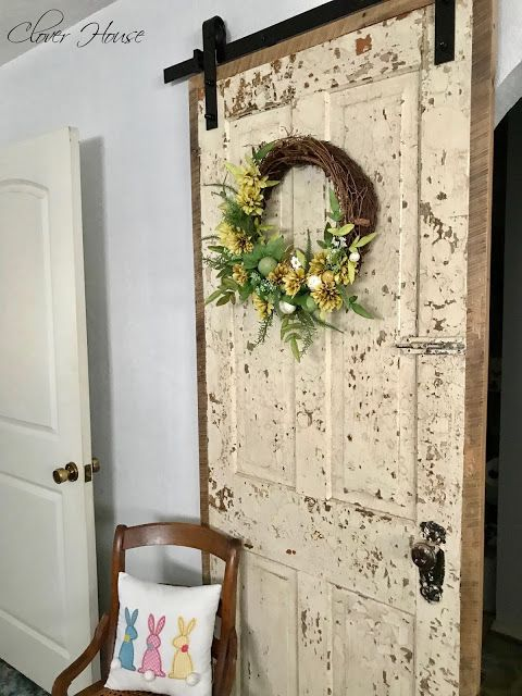 how to nstall a sliding barn door farmhouse decor