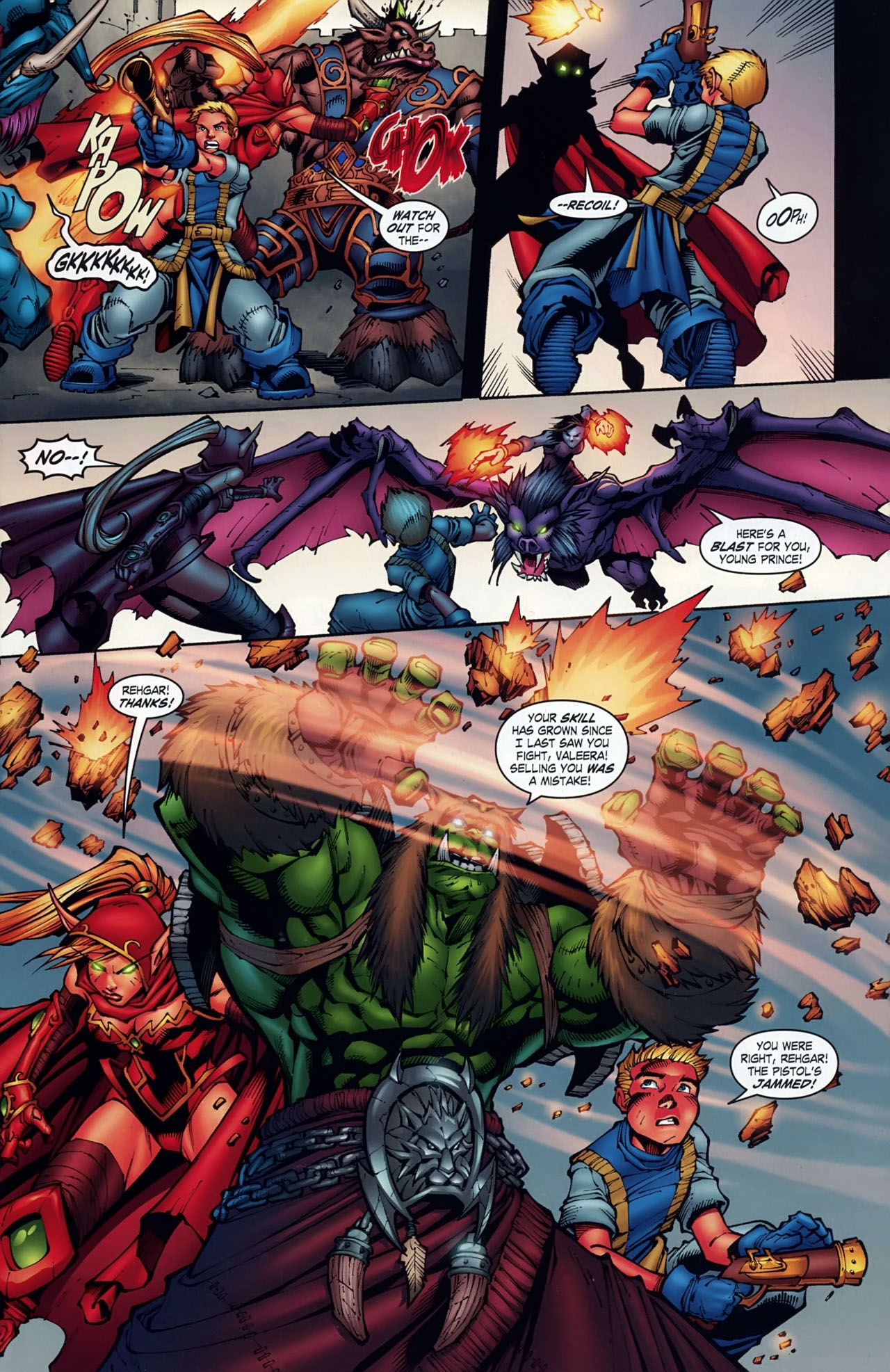 Read online World of Warcraft comic -  Issue #18 - 4