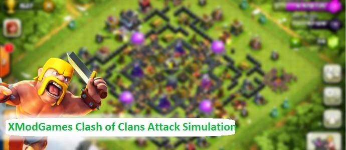 Xmodgames Clash Of Clans Attack Simulation