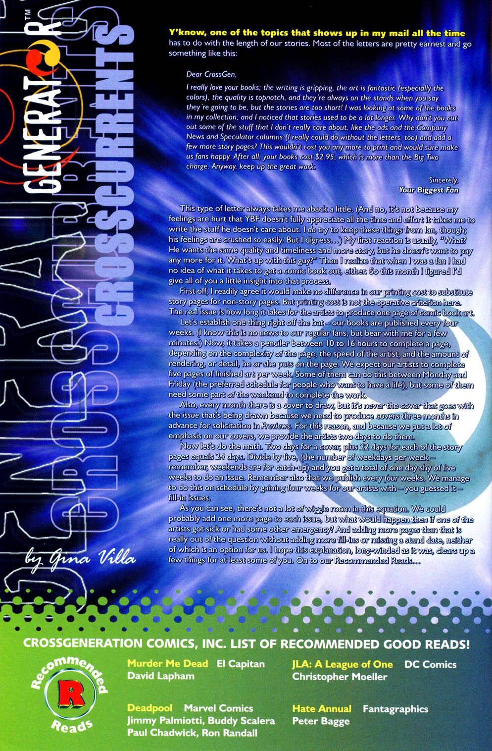 Read online Sigil (2000) comic -  Issue #12 - 31