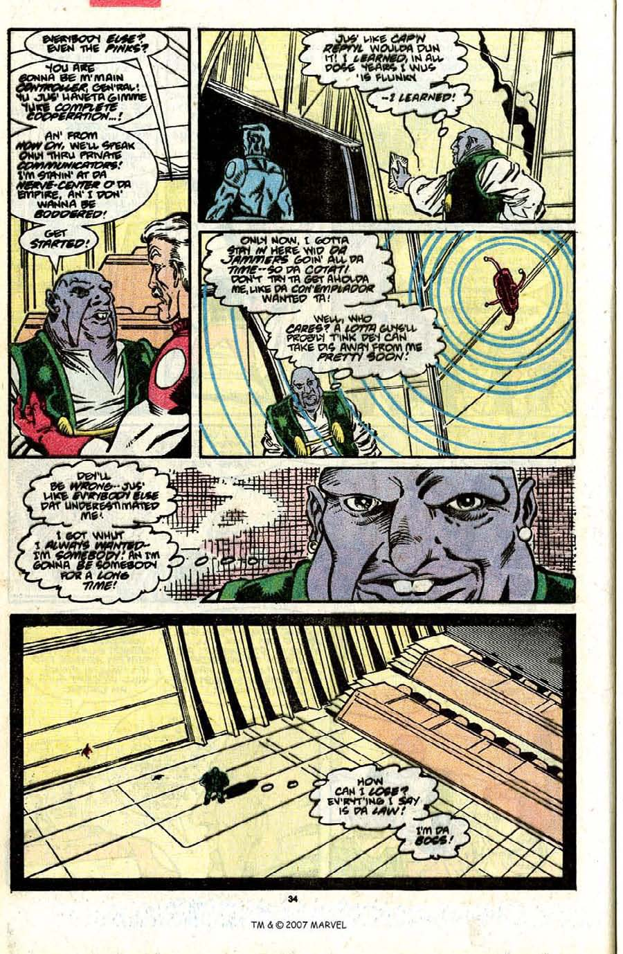 Read online Silver Surfer (1987) comic -  Issue #31 - 36