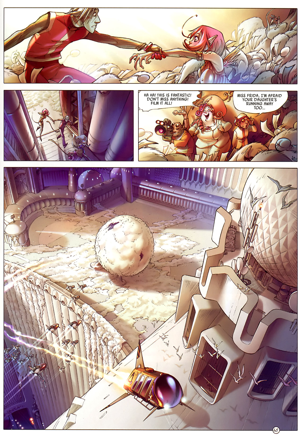 Read online Sky Doll comic -  Issue #3 - 49