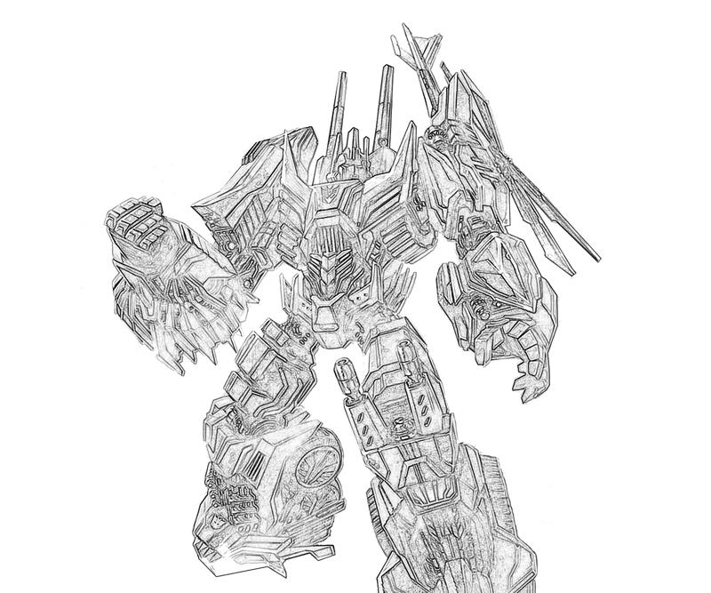 transformers cybertron coloring pages - photo#9