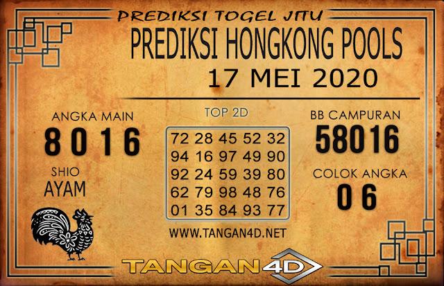Prediksi Togel HONGKONG TANGAN4D 17 MEI 2020