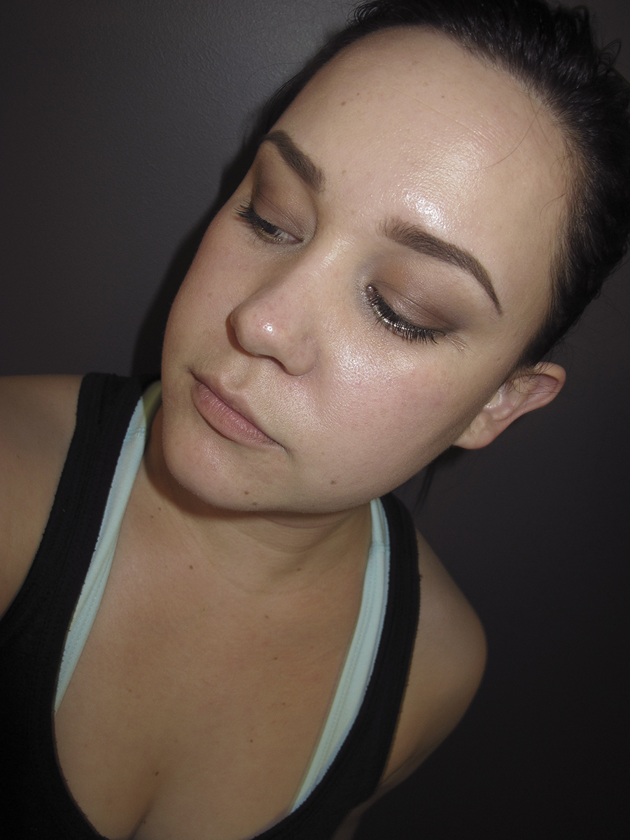 dipbrow lasting through a full work out