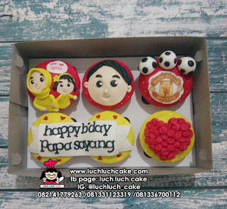 Cupcake Manchester United Isi 6