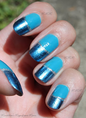 Nicole By OPI A Lit- Teal Bit of Love
