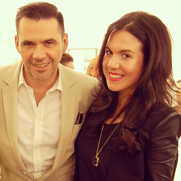 Roland Mouret at The Room in Hudson's Bay Vancouver