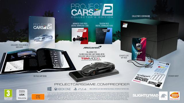 Project Cars 2 presenta sus ediciones especiales