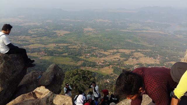 Panorama Gunung Bongkok