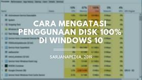 Penyebab Disk Usage 100%