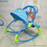 Baby Bouncer Sugar Baby RCK30003 Circus Carnival Rocker