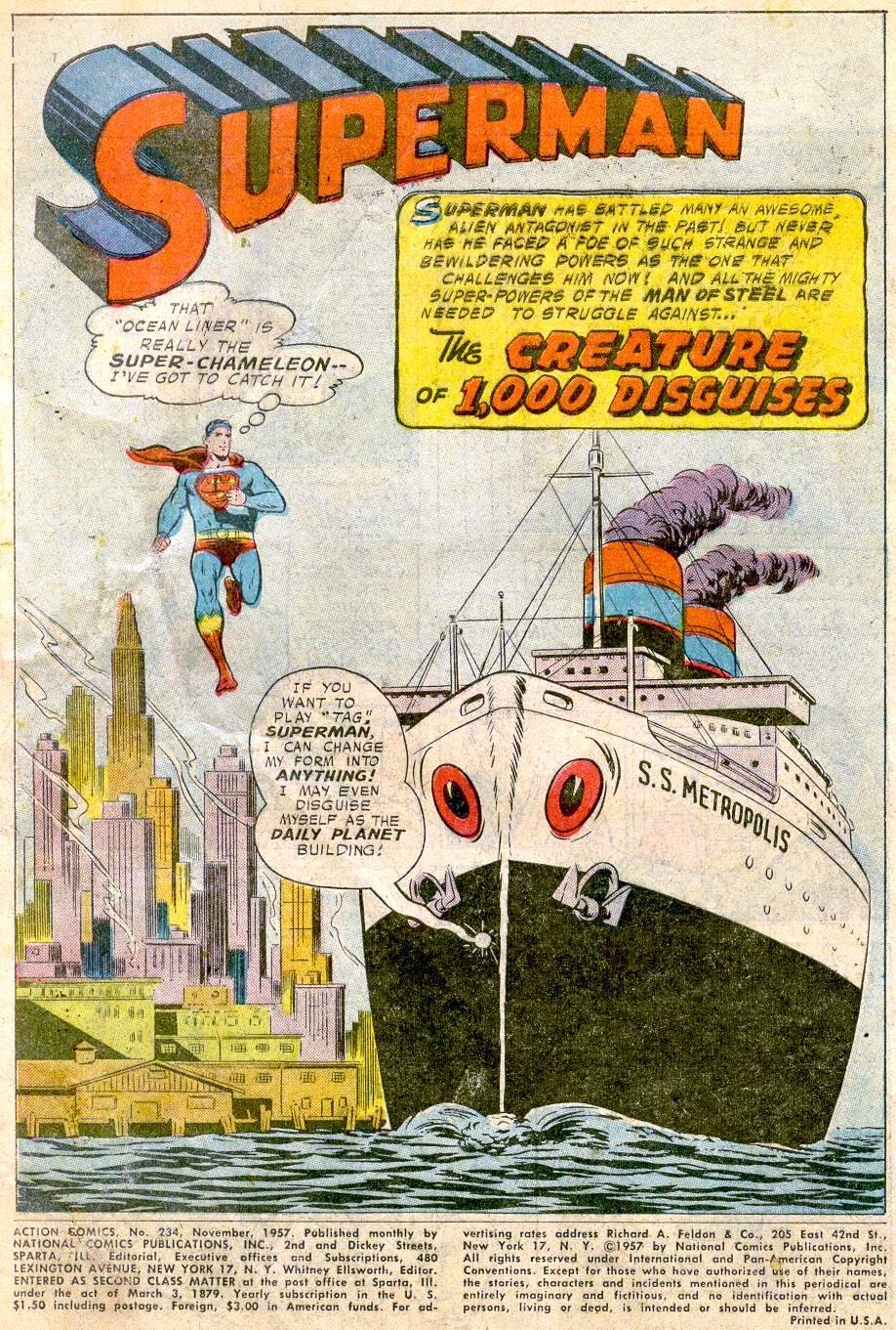 Read online Action Comics (1938) comic -  Issue #234 - 3