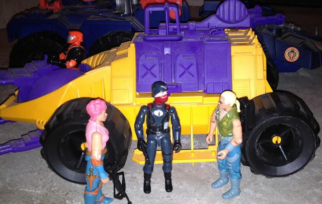 1992 Parasite, 1993 Nitro Viper, 2005 Zarana, Night Watch Officer, Buzzer, Dreadnok, Comic Pack