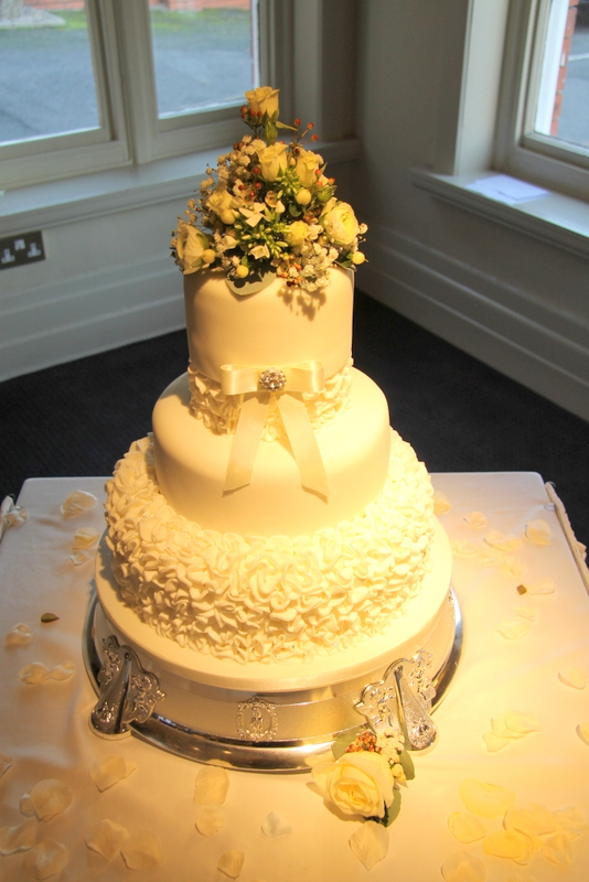 The Beautiful Grand Hotel White Winter Wedding for Lyndsey & Richard