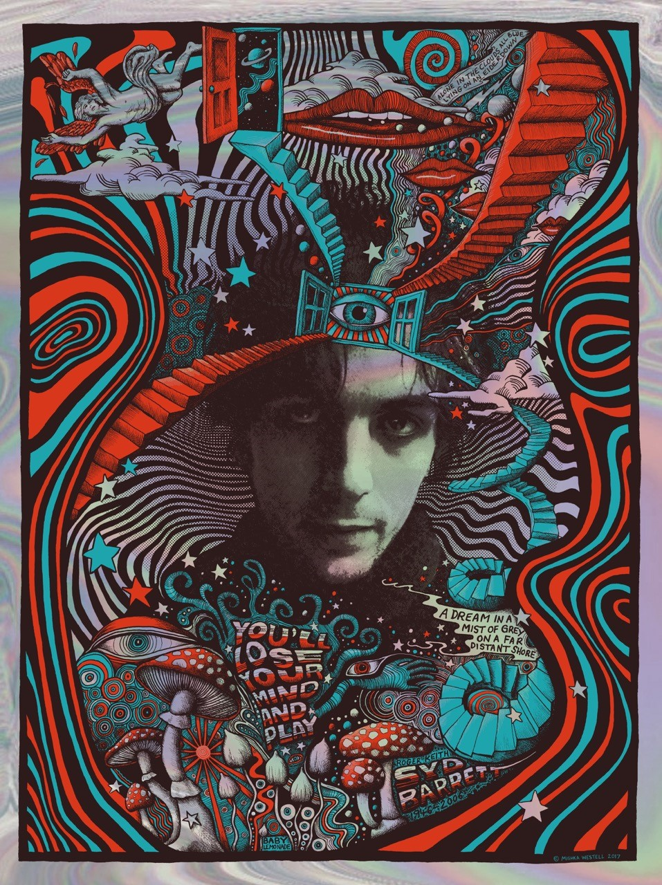 Inside The Rock Poster Frame Blog Mishka Westell Syd