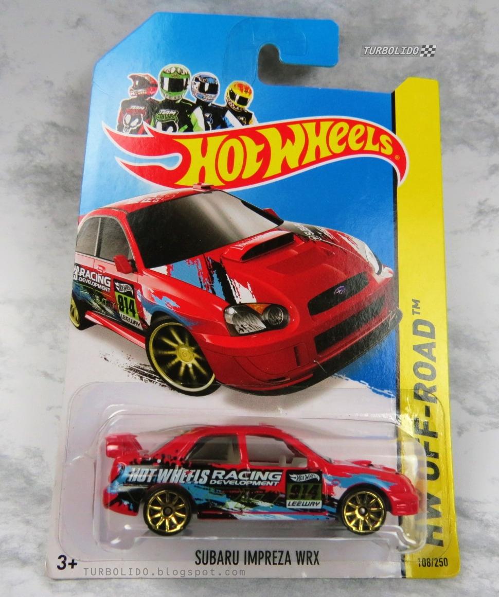 TURBOLIDO Cars: HOT WHEELS SUBARU IMPREZA WRX / HW BFC99