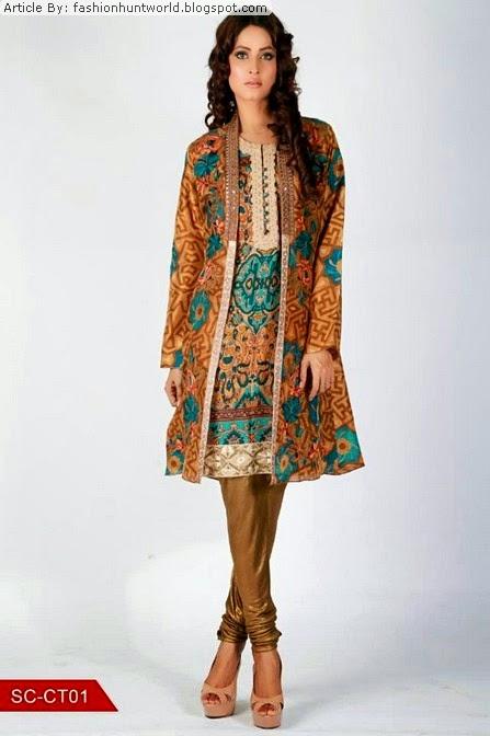 2aa8562f40 Shamaeel Ansari Winter Collection 2015-2016 | Angrakha Digital Prints Fashion  Trend In Pakistan