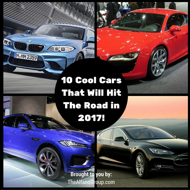 The Alfano Group Cool Cars That Will Hit The Road In - Cool 2017 cars