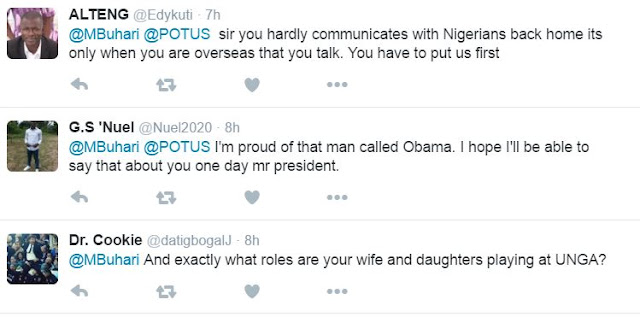 SEE THE TWEET BUHARI'S SENT TO OBAMA ABOUT NIGERIA AND RETIREMENT – WHAT HAPPENED AFTER THAT WILL SHOCK YOU (SEE MORE)