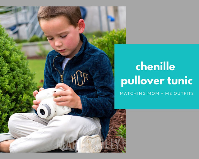 kids pullover in teal
