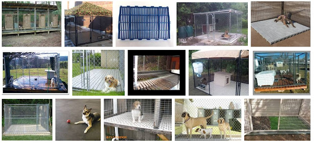 Kennel flooring for dogs