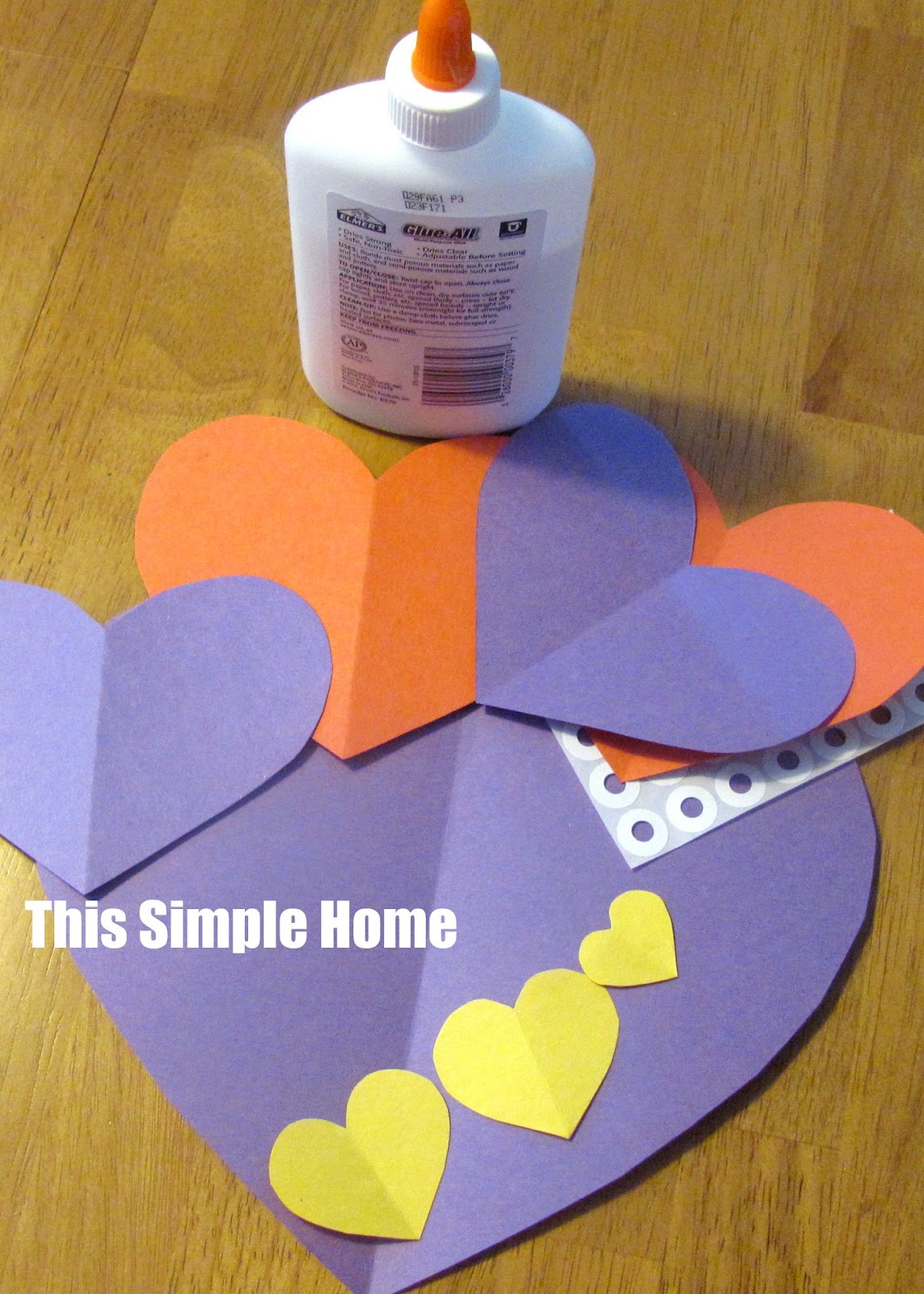 This Simple Home Owl Valentine Craft