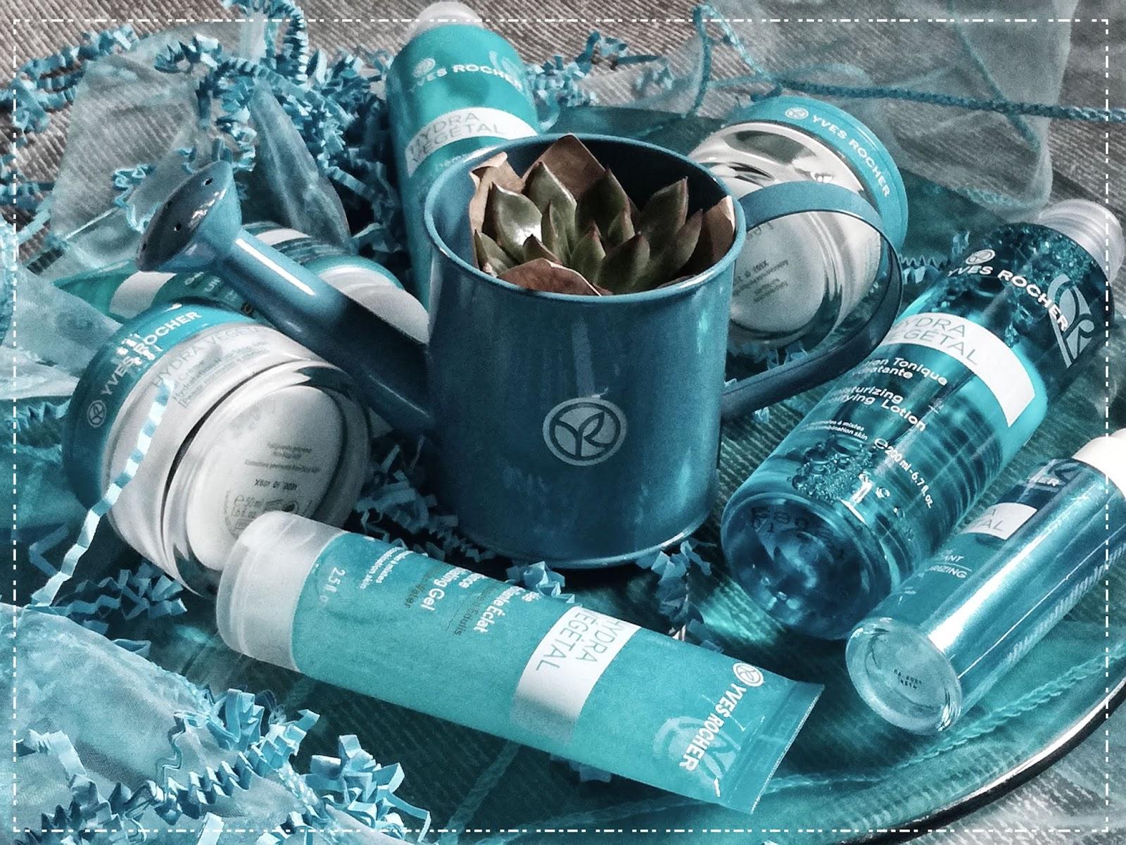 """Hydra Vegetal """"stara- nowa"""" linia kosmetyków Yves Rocher"""