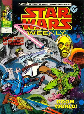 Star Wars Weekly #23, Doom World